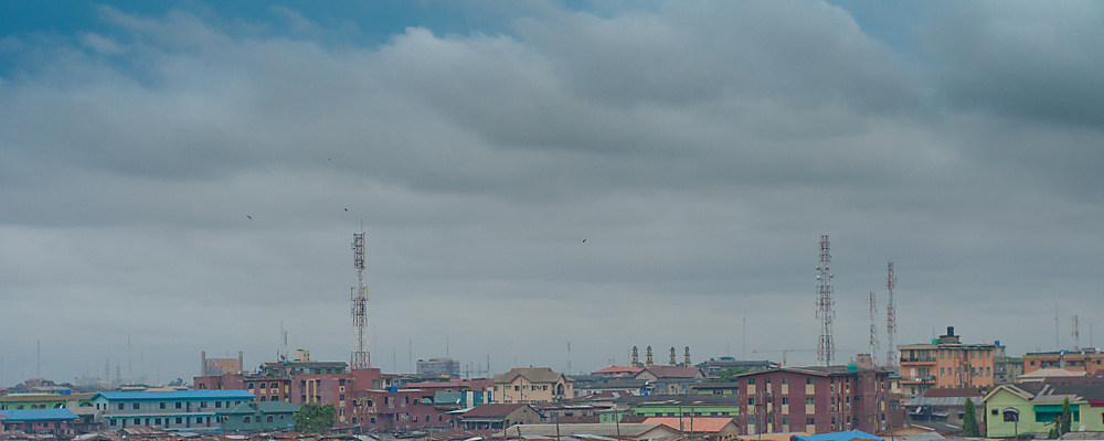 photoblog image Lagos from a View